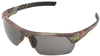 Under Armour Ua Igniter 2.0 (ansi) Realtree Xtra/Black Frame/Gray Lens Wrap Sunglasses