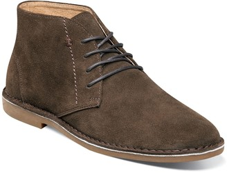 Nunn Bush Galloway Mens Suede Plain Toe Casual Chukka Boots