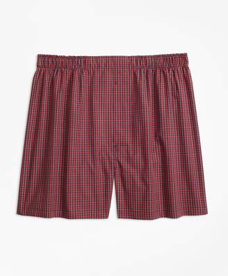 Brooks Brothers Traditional Fit Mini-Tartan Boxers