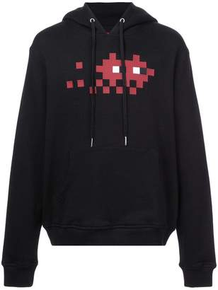 Mostly Heard Rarely Seen 8-Bit blinky hoodie