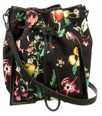 3.1 Phillip Lim 3.1 Phillip Lim Floral Scout Bucket Bag
