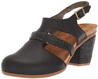 El Naturalista Women's N5035T Soft-Rafia Mola Heeled Sandal