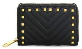 Rebecca Minkoff Becky Zip-Around Quilted Leather Wallet