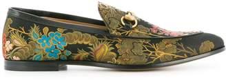 Gucci Jordaan jacquard loafers