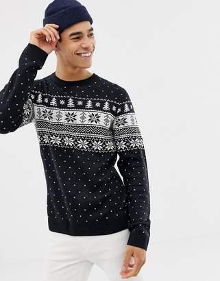 Jack and Jones Originals Knitted Holidays Sweater