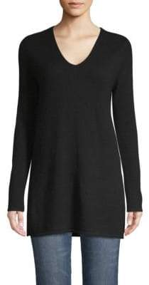 Saks Fifth Avenue V-Neck Cashmere Tunic