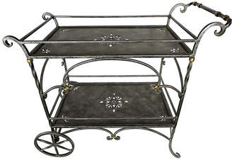 One Kings Lane Vintage Italian Tiered Tea Cart - Cliffe's Edge Antiques