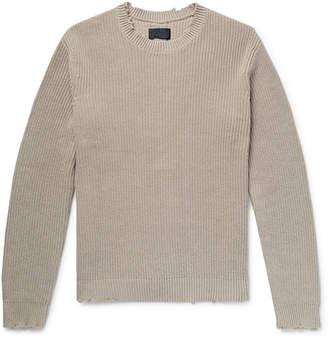 RtA Distressed Cotton Sweater