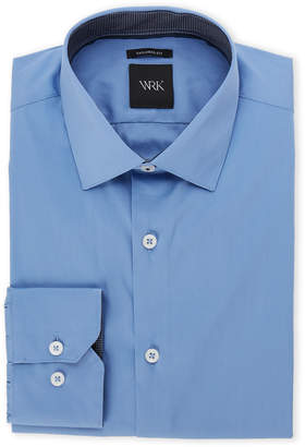 N. Wrk French Blue Tailored Fit Dress Shirt
