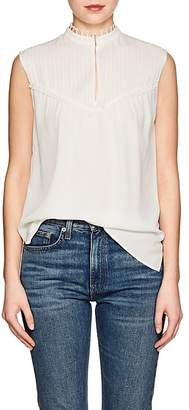 Derek Lam WOMEN'S SILK CREPE SLEEVELESS BLOUSE