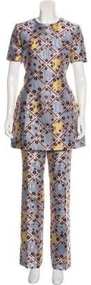 Mary Katrantzou Patterned Tunic Set w/ Tags
