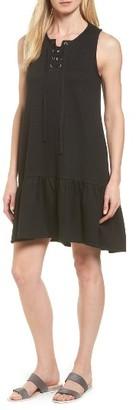 Women's Caslon Jersey Drop Waist Dress $69 thestylecure.com