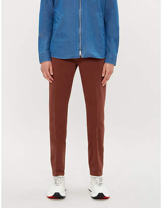 Corneliani Regular-fit stretch-cotton tapered chinos