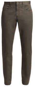 Saks Fifth Avenue COLLECTION Stretch-Cotton Five-Pocket Pants