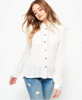 Superdry Candice Schiffly Shirt
