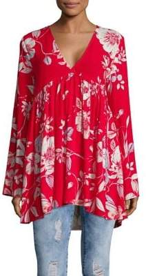 Free People Bella Printed Tunic