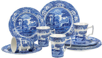 Spode Blue Italian 12Pc Set