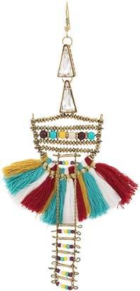 Forte Forte boho tassel drop earrings