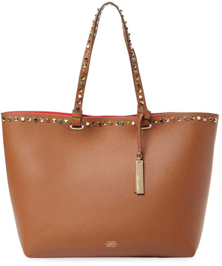 Vince Camuto Women's Tysa Stud Leather Tote