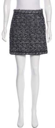 Christian Dior Embroidered Mini Skirt