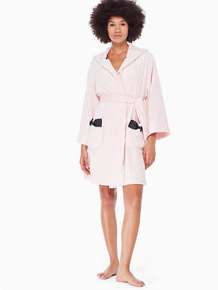 Kate Spade Hooded bow robe