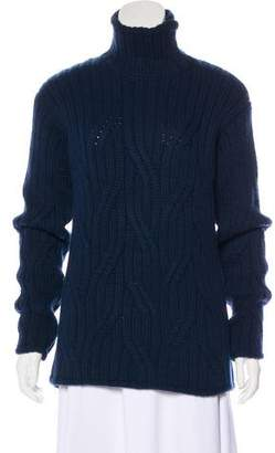 Loro Piana Baby Cashmere Cable Knit Sweater