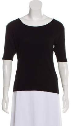 La Garçonne Moderne Bateau Neck Knit T-Shirt