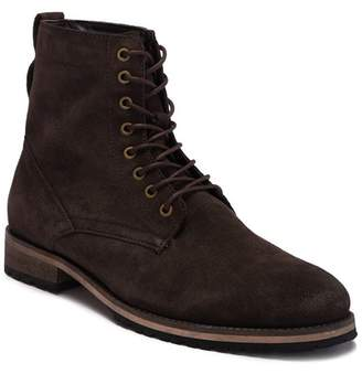 MODERN FICTION Ethos Plain Toe Leather Lace-Up Boot