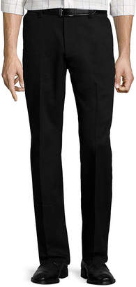ST. JOHN'S BAY Stretch Iron-Free Straight-Fit Flat-Front Pants