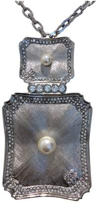 Chanel Anthracite Metal Necklace