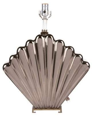 Ceramic Shell Table Lamp