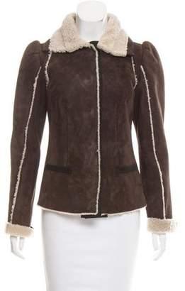 Dolce & Gabbana Tailored Shearling Jacket w/ Tags