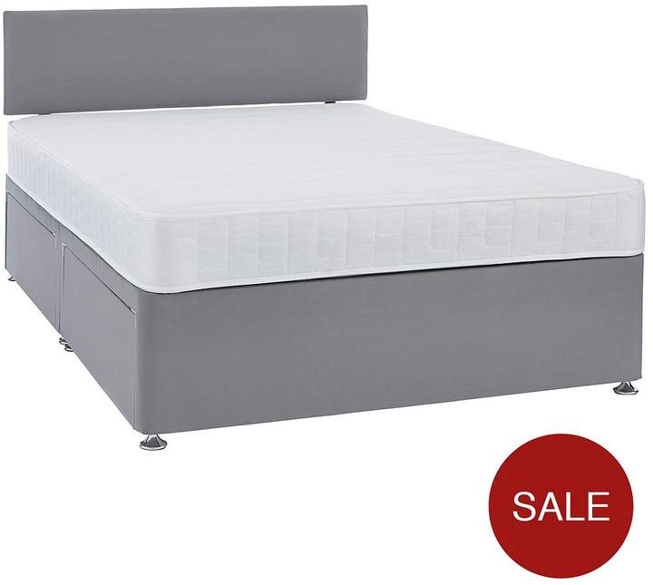 Calie Divan Base And Headboard With Next Day Delivery And Mattress Options