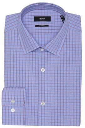 BOSS Pepita Check Sharp Fit Dress Shirt