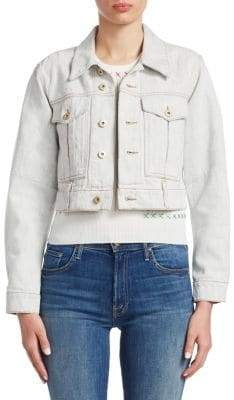 Carven Crop Denim Jacket