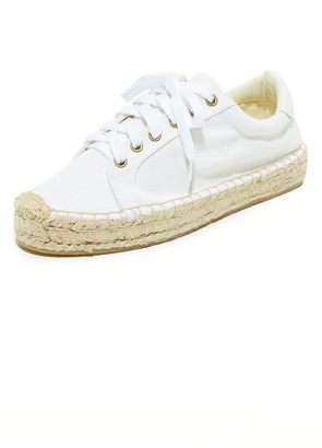 Soludos Platform Tennis Sneakers $89 thestylecure.com