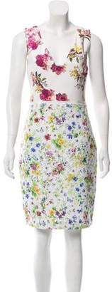 Giambattista Valli Silk Blend Floral Dress