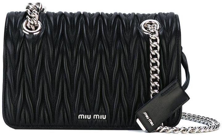 Miu MiuMiu Miu quilted crossbody bag