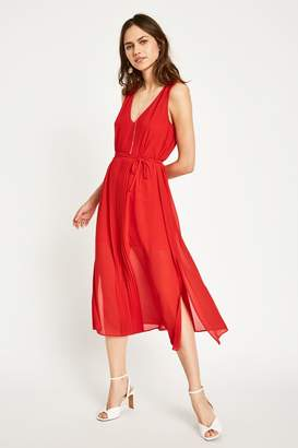 Jack Wills Dress- Palmsley Long Pleated