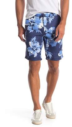Ganesh Floral Print Regular Fit Shorts