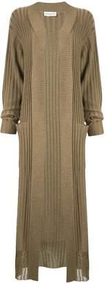 Sonia Rykiel rib-knit cardi-coat