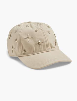 Lucky Brand EMBELLISHED BASEBALL HAT