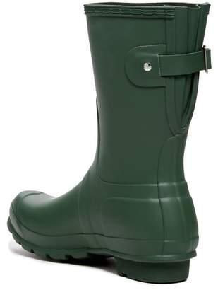 Hunter Short Back Adjustable Waterproof Rain Boot (Women)