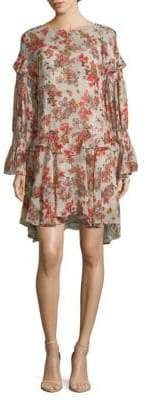 IRO Averen Floral-Print Tunic Dress