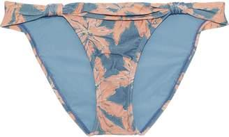 Vix Paula Hermanny Margarita Bia Knotted Printed Low-rise Bikini Briefs