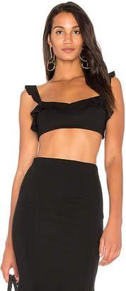 MAJORELLE x REVOLVE Olga Top in Black $68 thestylecure.com