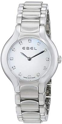 Ebel Womens Analogue Classic Quartz Watch with Stainless Steel Strap 1216038