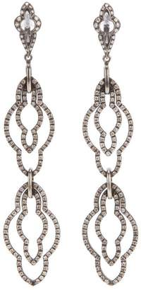 Loree Rodkin drop diamond earrings
