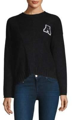 Rails Wool& Cashmere Metallic Sweater