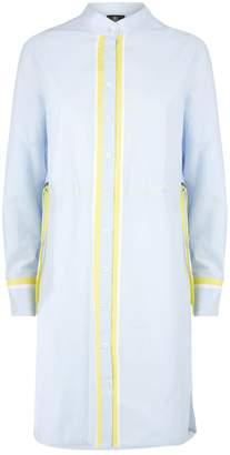 Bogner Contrast Trim Shirt Dress